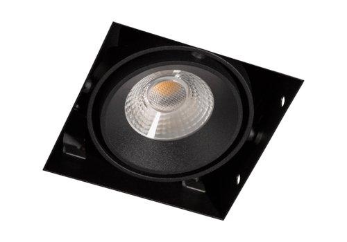 Berla LED trimless inbouwspot | 500Lm | 2700K | 7W | CRI90 | Zwart | incl. dimbare driver