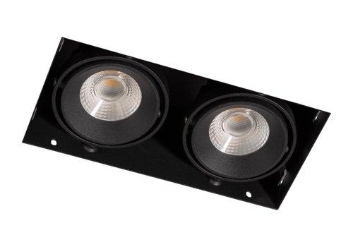 Berla  LED trimless inbouwspot   1000Lm   2700K   14W   CRI90   Zwart   incl. dimbare driver