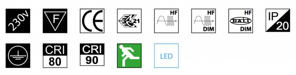 MacBright BON-LED 1500 WB 4700lm 43W 840 ND IP20