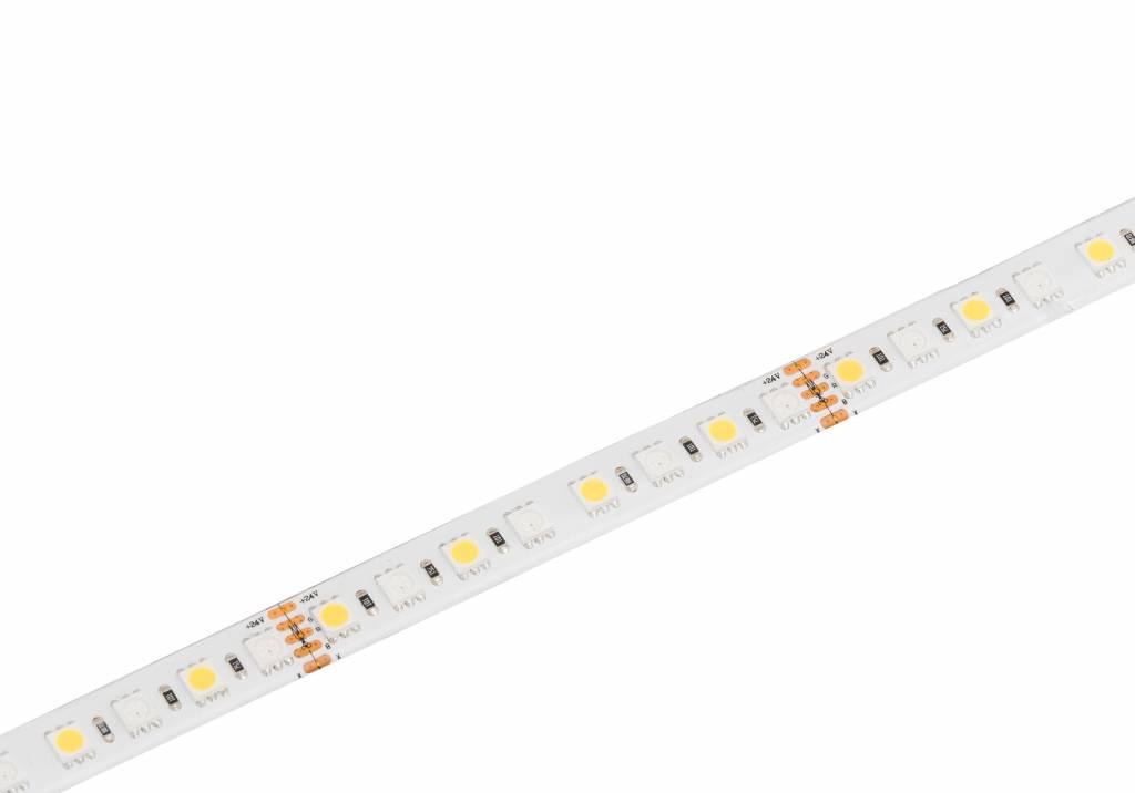 Berla LED strip | 24V | RGBW-2700K | 23,1W | 96 LED/m | IP62