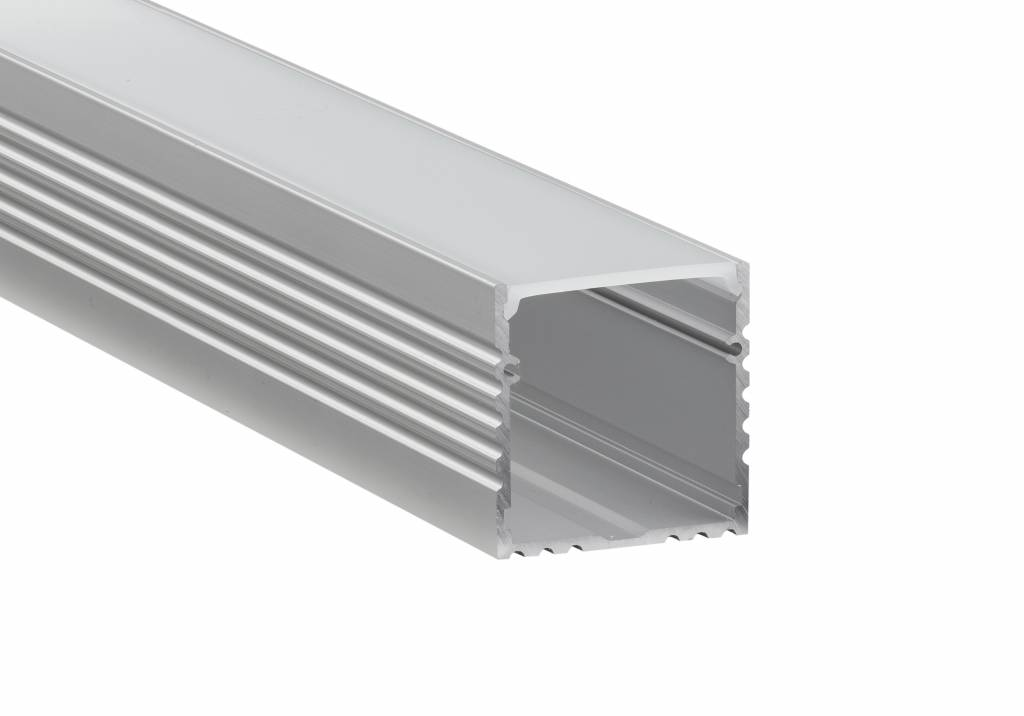 Berla Aluminium LED strip U-profiel XL | Opbouw | 35 x 35mm
