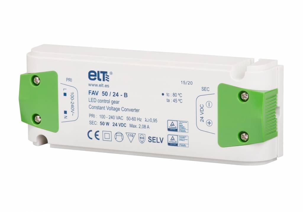 ELT LED trafo | 50W | 24V | IP20