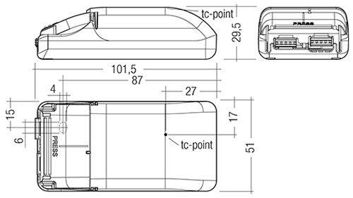 Berla LED cardanische inbouwspot   1000Lm   2700K   14W   CRI90   Wit   incl. dimbare driver