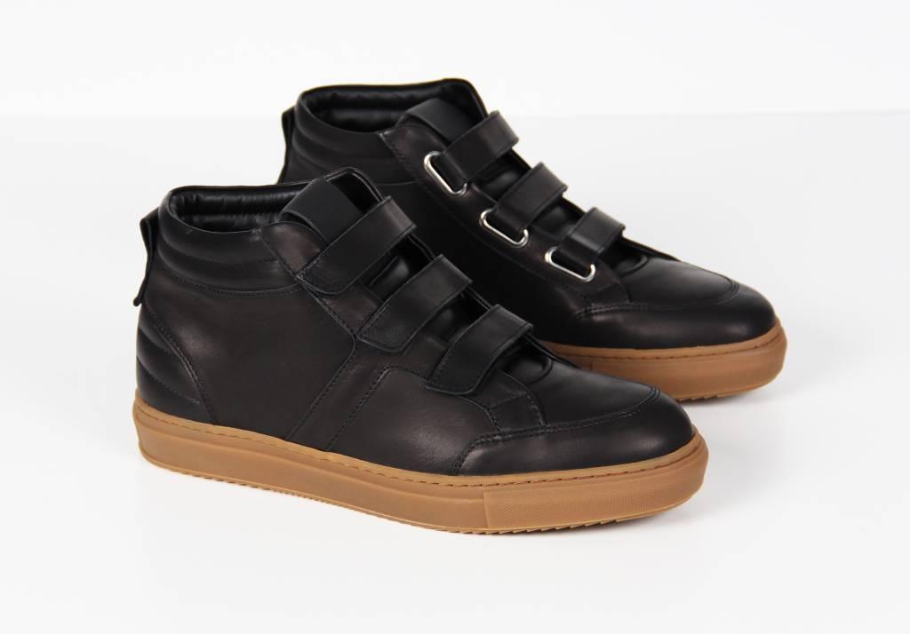 Midtop Velcro Black
