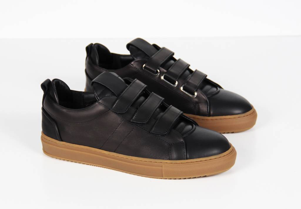 Lowtop Velcro Black