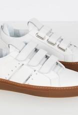 Lowtop Velcro White Caramel