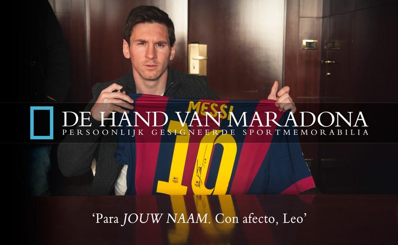 Persoonlijke boodschap van Lionel Messi
