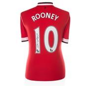 Wayne Rooney gesigneerd shirt Manchester United