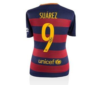 Luis Suárez Gesigneerd FC Barcelona Shirt