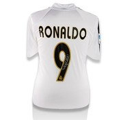 Ronaldo Gesigneerd Real Madrid Shirt