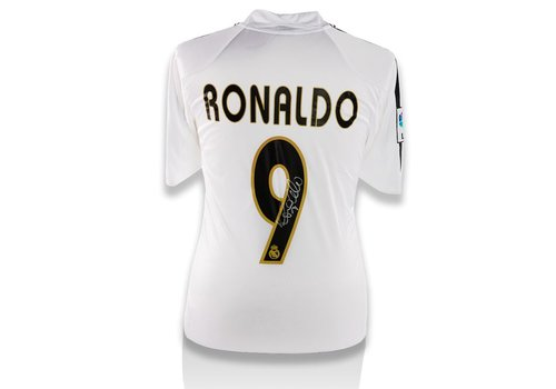 Ronaldo Gesigneerd Real Madrid Shirt