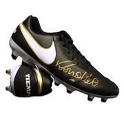 Ronaldo Gesigneerde Nike Tiempo Voetbalschoen