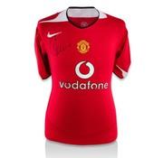 Cristiano Ronaldo gesigneerd Manchester United shirt
