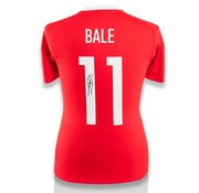 Gareth Bale gesigneerd Wales EURO 2016 shirt