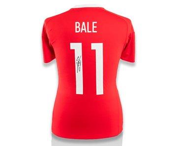 Gareth Bale Gesigneerd Wales Shirt