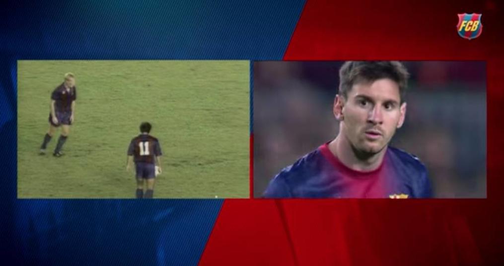Messi vs. Koeman: de gelijkenis in vrije trappen (video)