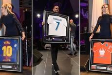 Messi en Ronaldo geveild op gala PEC Zwolle