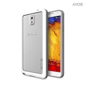 Avoc Galaxy Note 3 Bumper Solid Avoc Wit / Grijs
