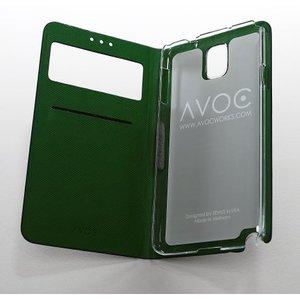 Avoc Galaxy Note 3 Masstige Nuovo Diary Avoc - Brown
