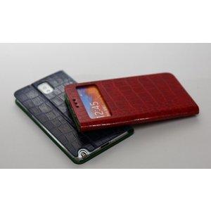 Avoc Galaxy Note 3 Masstige Nuovo Diary Avoc - Dark Red
