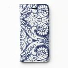 Zenus iPhone 6 Denim Paisley Diary - Blue