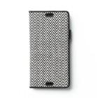 Zenus Sony Xperia Z3 Herringbone Diary - Black