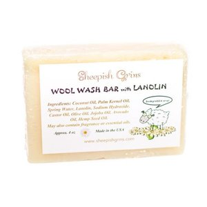Sheepish Grins - Wolwaszeep met Lanoline