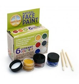 natural earth paint Natural Face Paint Kit 6 kleuren