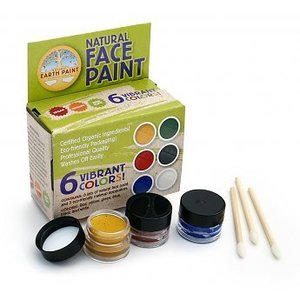Natural Face Paint Kit 6 kleuren
