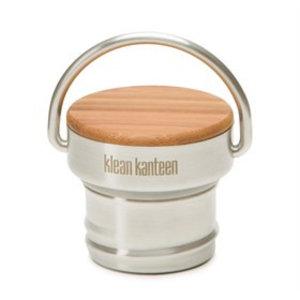 Klean Kanteen - RVS Bamboe dop