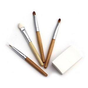 Natural Earth Paint - Eco Bamboe Make-up Kwastjes