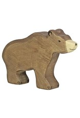Holztiger - Bruine beer groot