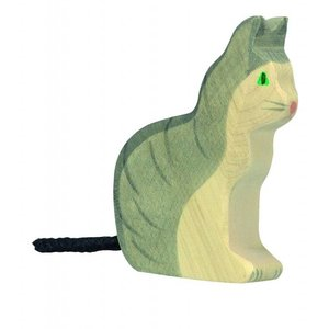 Holztiger - Zittende Kat