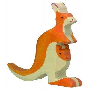 Holztiger - Kangoeroe met jong