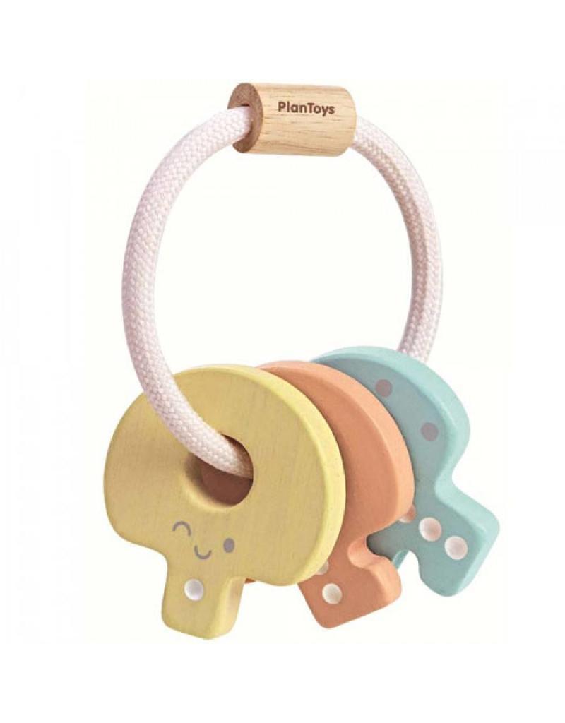 plantoys PlanToys - Sleutelbos Pastel