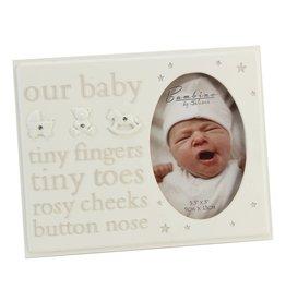 By Juliana Baby fotolijstje baby
