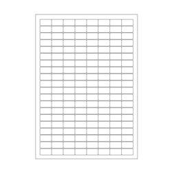 Криогенные лазерные этикетки 24 x 13мм (формат А4)