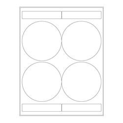 LabID™-Étiquettes CryogéniquesØ102mm PourImprimantesLaser