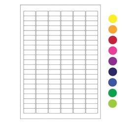 Криогенные удаляемые лазерные этикетки 31,5мм x 13мм (А4)