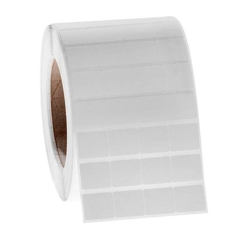 Xylene and solvent resistant labels - 21.8mm x 19.1mm