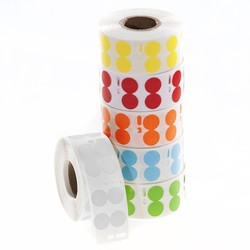 DTermoID ™ - DYMO compatible direct thermal paper labels Ø 13mm