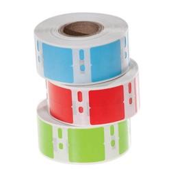 Kryo DYMO Etiketten (Tiefkühl-Etiketten) 13 x 25mm - Farbig