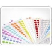Farbige Etiketten (rund)