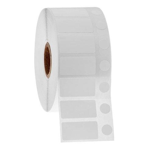 Étiquettes cryogéniques à jet d'encre 31,8mm x 16mm + Ø 9,5mm