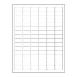 ÉtiquettesCryogéniques Pour Imprimantes Laser - 30,5 x 16mm (Format US Letter)