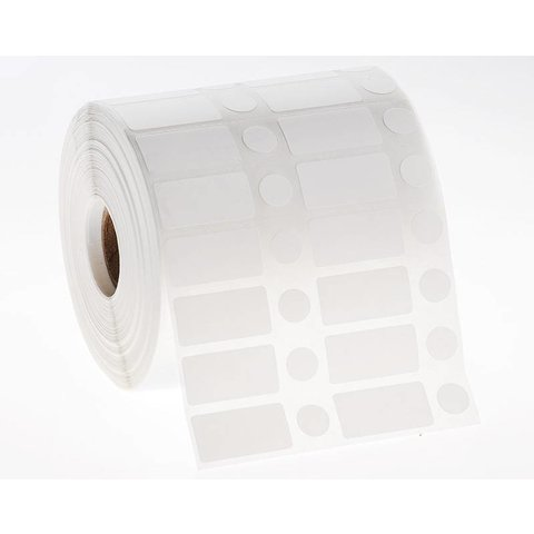 NitroID™ - Kryo Barcode - Etiketten 31,8mm x 16mm + Ø 11,1mm