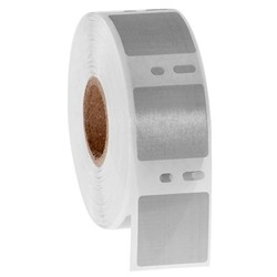 Cryogenic DYMO Compatible Labels 25.4 x 25.4mm - Gray