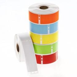 Kryo DYMO Etiketten (Tiefkühl-Etiketten) 29 x 89mm - Farbig