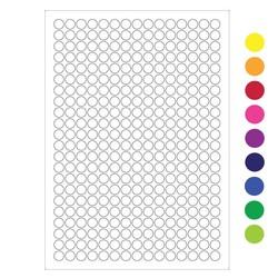 LabID™-Étiquettes CryogéniquesØ11mm PourImprimantesLaser