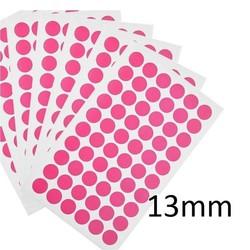 Gekleurde Ronde CryoEtikettenØ13mm (voor1,5mlmicrotubes)